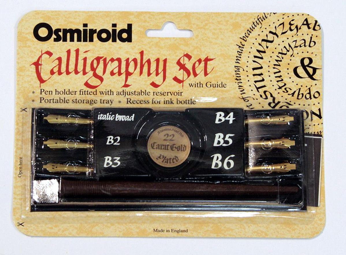 Osmiroid Dip Pen Calligraphy Set Wills Quills