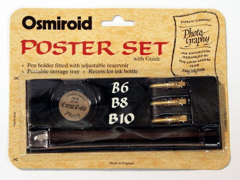 Osmiroid Poster Set