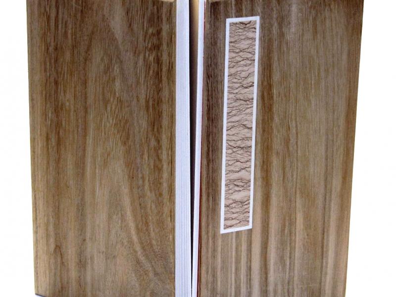 冊頁部 木面  23cm Wooden Concertina Book