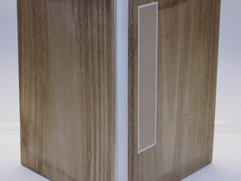 冊頁部 木面 35cm Wooden Concertina Book
