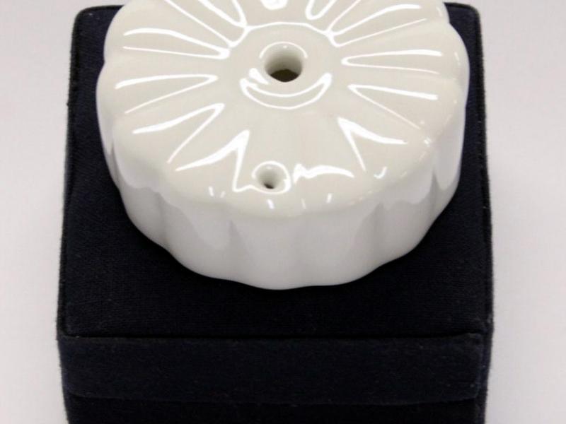 細白色圓型水滴 5cm White Flower Water Dropper