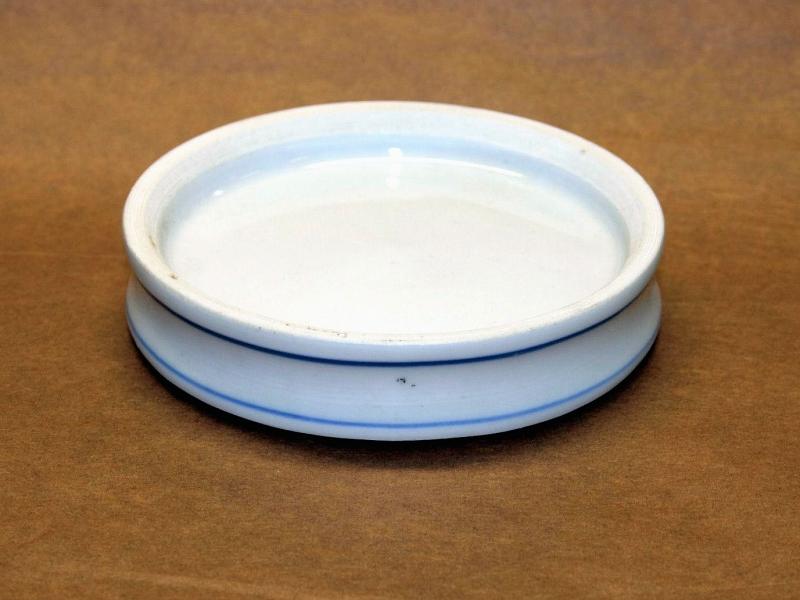 11cm Blue Ceramic Colour Mixing Dish