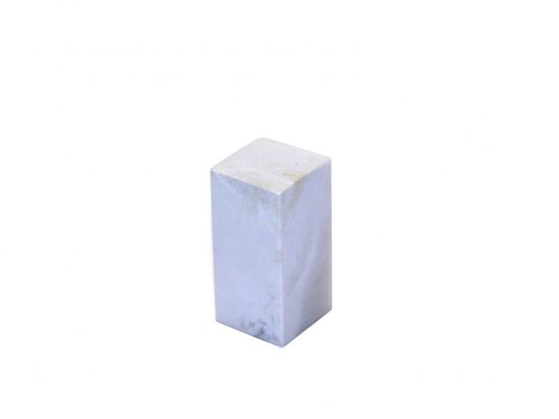巴林彩凍方平頭印 23mm Balin Colour Crystal Square Plain Seal