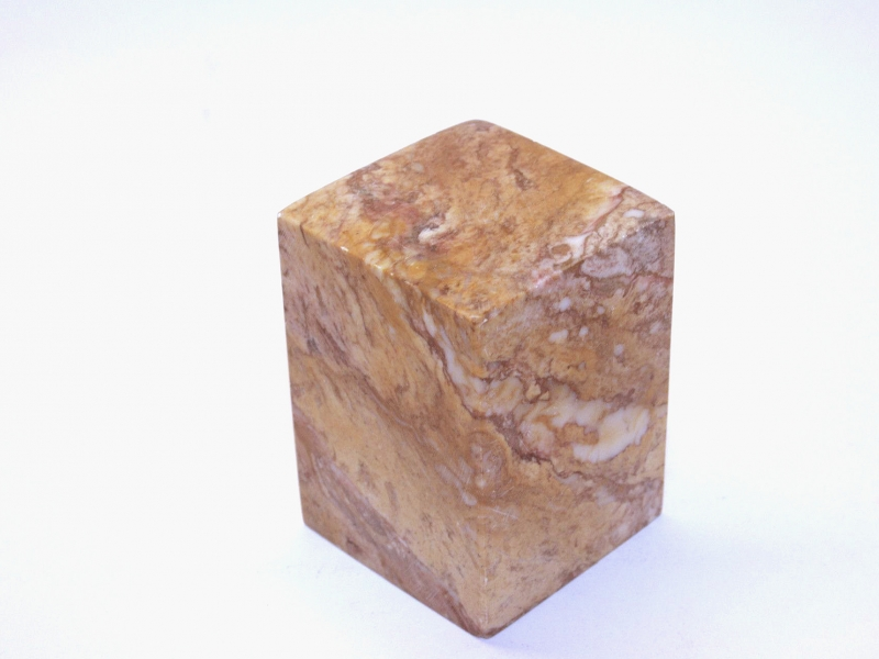 巴林彩凍方平頭印 50mm Balin Colour Crystal Square Plain Seal