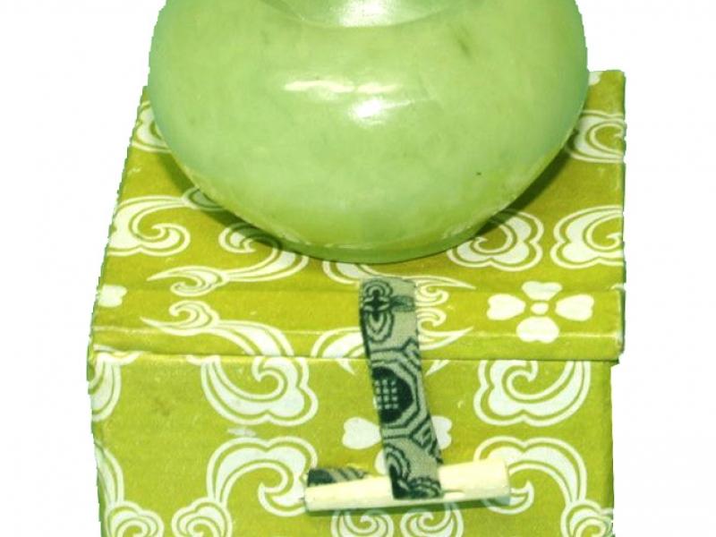 5cm Round Jade Water Dropper