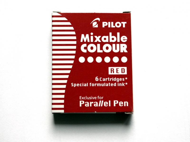 Pilot Red Ink Cartridges