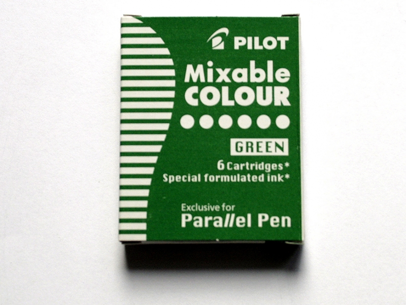 Pilot Green Ink Cartridges
