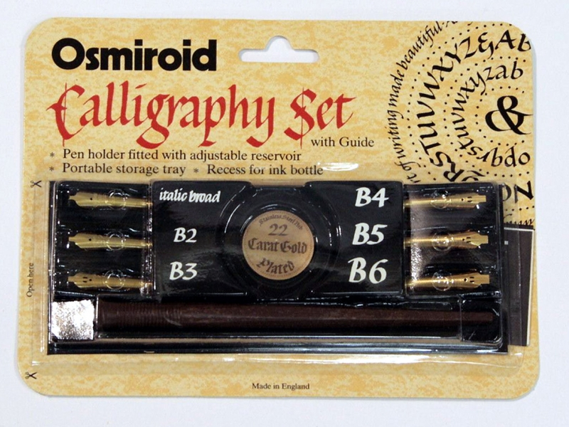 Osmiroid Dip Pen Calligraphy Set