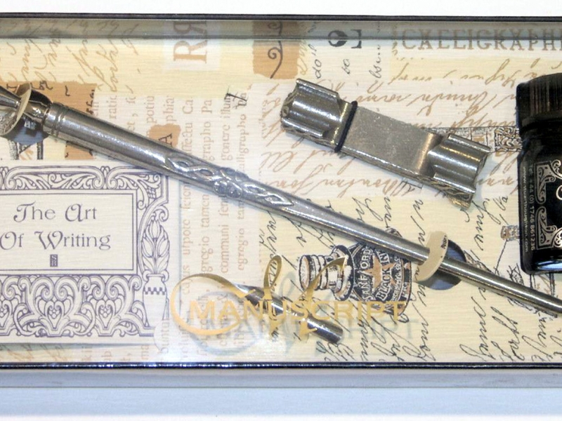 Manuscript- The Art of Writing Calligraphy Set (Silver)