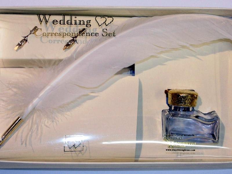 Stuart Houghton- The Wedding Correspondence Set