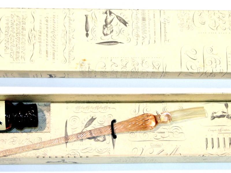 Inchiostro Bordeaux Glass Pen Set