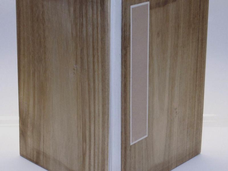 32cm Wooden Concertina Book 冊頁部 木面