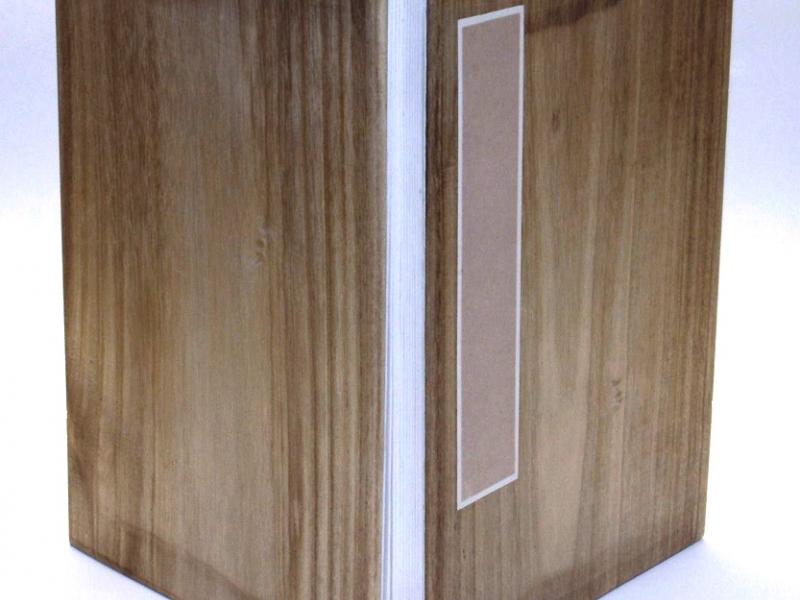 冊頁部 木面 42cm Wooden Concertina Book