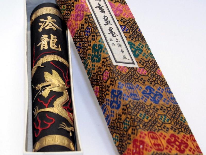 法龍墨條(細) 4 tael Dragon Brand Black Ink Stick