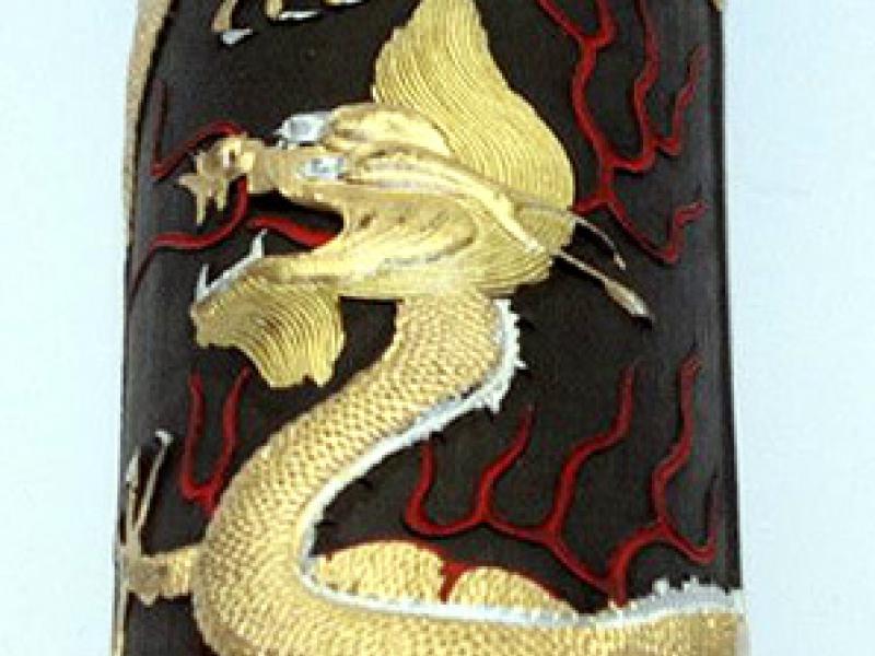 法龍墨條(大) 16 tael Dragon Brand Black Ink Stick