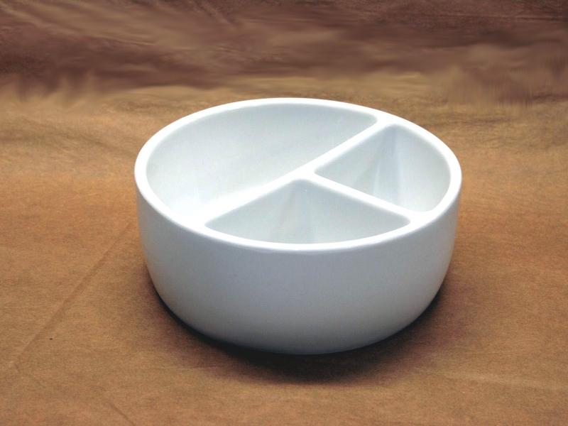 16cm White Ceramic Brush Wash