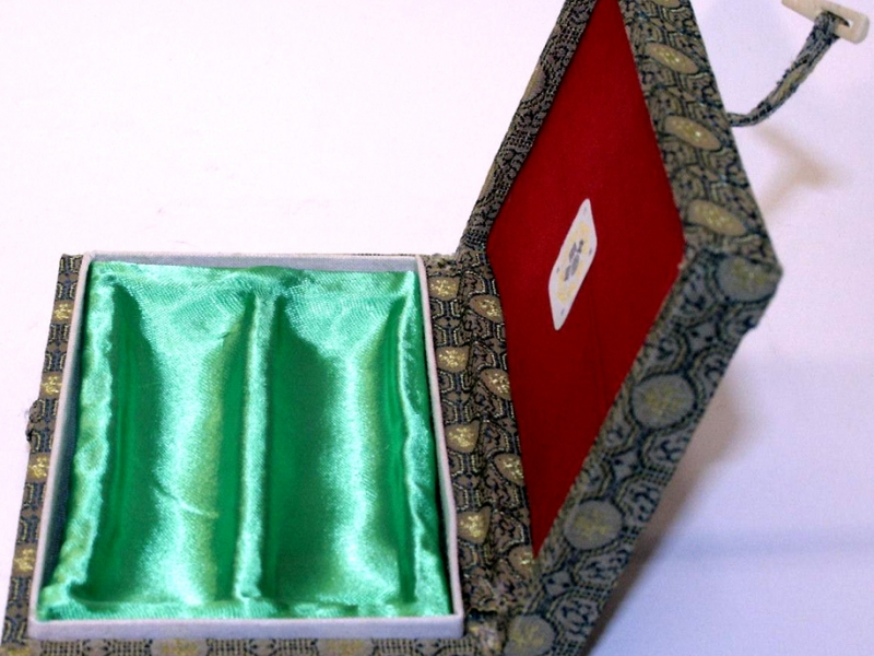 13.5cm Silk Brocade Box