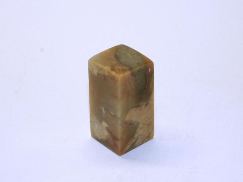 巴林彩凍方平頭印 25mm Balin Colour Crystal Square Plain Seal