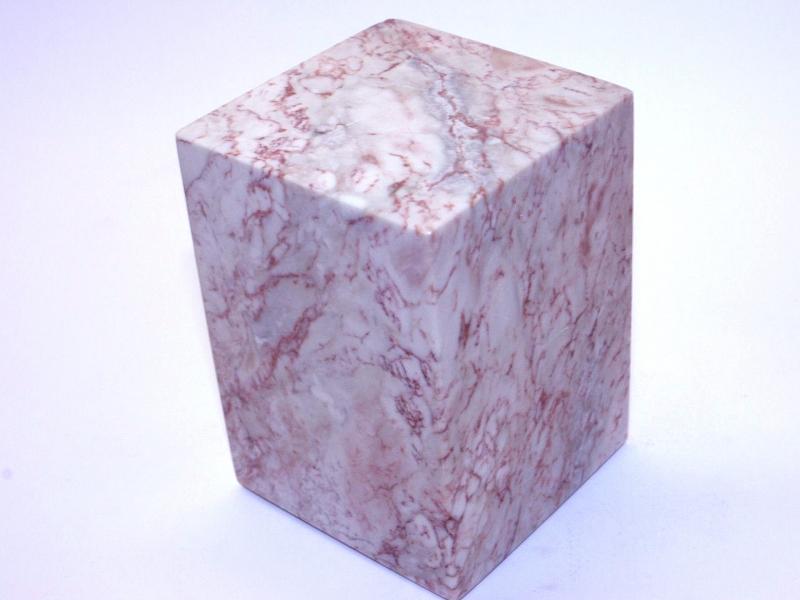 巴林彩凍方平頭印  70mm Balin Colour Crystal Square Plain Seal