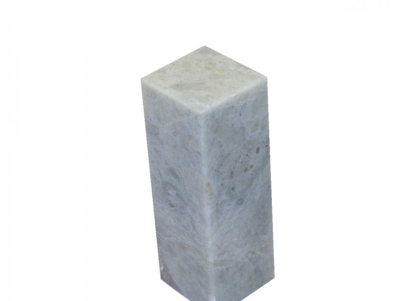 青田石方平頭印 25mm Qingtianshi Square Plain Seal Stone