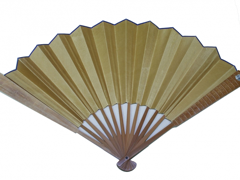 33cm Mid Brown Polished Fan