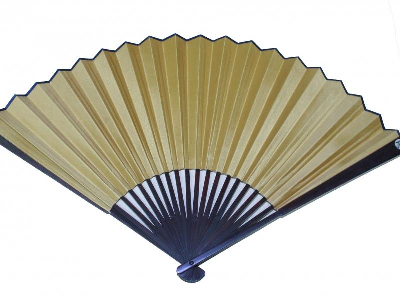 33cm Dark Brown Polished Fan