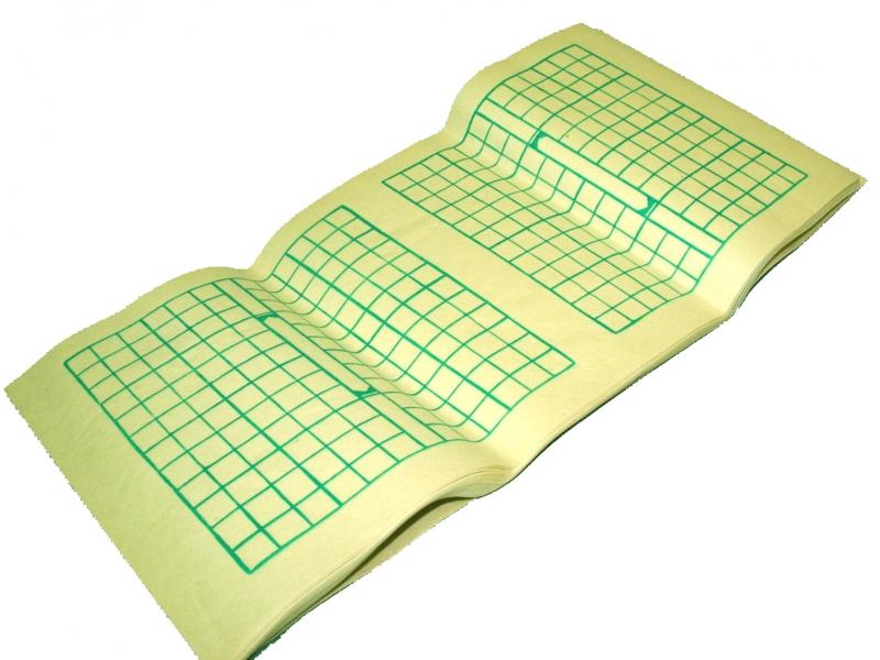 1.5cm Green Woodbock Practice Paper